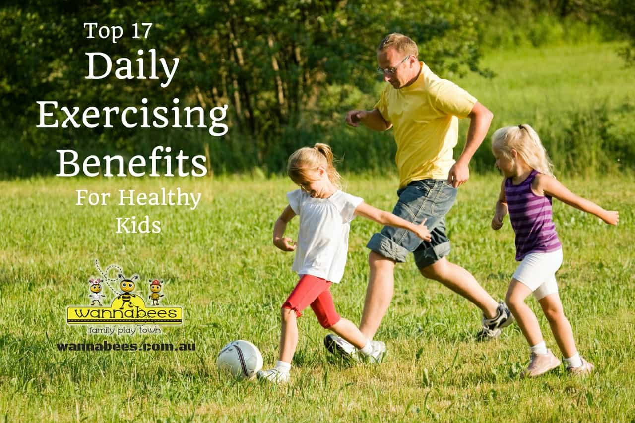 Daily Exercising Benefits HEalthy Kids, Play Centres Sydney