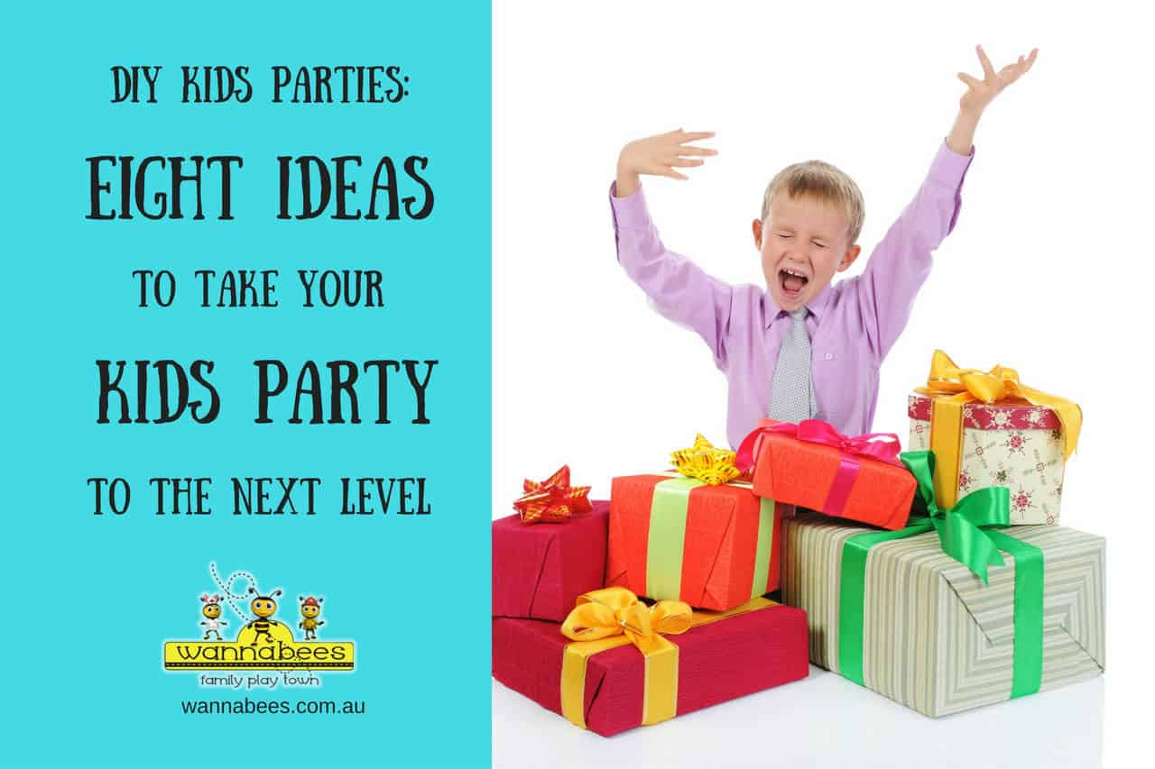 DIY Kids Parties - Ideas To Take Kids Party To Next Level