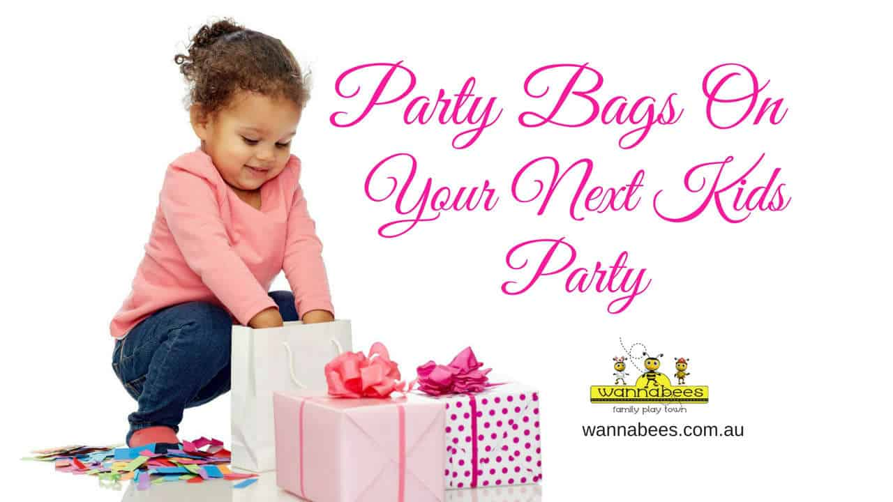 Party Bags, Kids Birthday party Venues